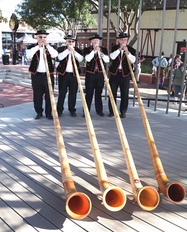 ALPHORNS IN TEXAS